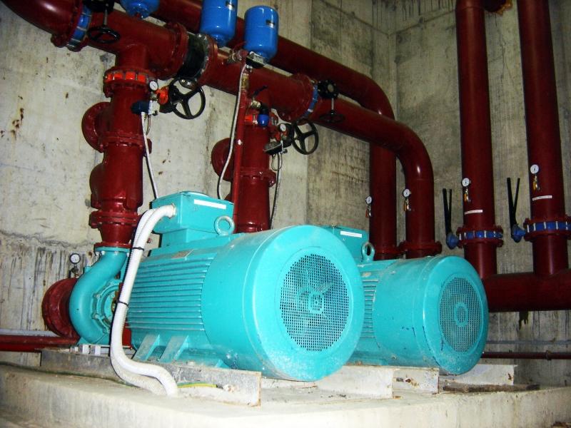 Dumbravita Jud. Timis | Instalatii electrice/mecanice industriale - Statie de pompare sprinkler